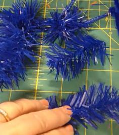 Deco Mesh Wreaths - Needle Twist Tie Dilemma Solved