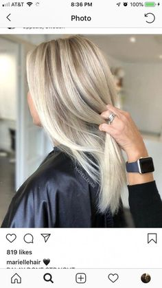 Beautiful blonde #CoconutOilHairCare Best Ombre Hair, Pretty Hairstyles, Hairstyle Ideas, Easy Hairstyle, Fall Hairstyles, Blonde Hairstyles, Bridal Hairstyle, Balayage Ombré, Peinados Pin Up