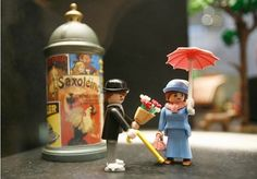 Once upon a time two Playmobil people took a walk....