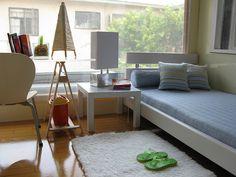 Barbie - 1:6 scale miniature Mini Condo 1 White Bedroom by Dragondeemini / LeneUx8, via Flickr