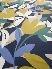 Scion Baja Forest/Citrus/Electric Blue Curtain Craft Fabric 1.5 Metres Scion Fabric, Blue Curtains, Fabric Samples, Electric Blue, Fabric Crafts, Fabric Design, Art, Fabric Swatches, Art Background