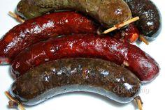 Naše zabíjačky Poultry, Sausage, Cooking Recipes, Meat, Food, Easy Meals, Eten, Backyard Chickens