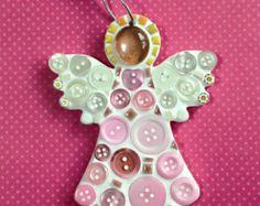 Lily Mosaics newest DIY Mosaic Kit. A pink angel for Christmas. Mosaic Birds, Mosaic Wall Art, Mosaic Diy, Mosaic Crafts, Mosaic Projects, Mosaic Glass, Mosaic Crosses, Mosaic Ideas, Christmas Mosaics