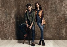 Park Shin Hye and Lee Jong Suk ☆ #Kdrama for Jambangee's F/W 2013 Campaign