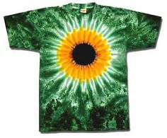 Tie Dye Pattern-try to make a sunflower