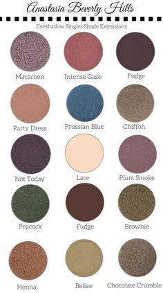 Anastasia Beverly Hills Eyeshadow Singles Shade Extension