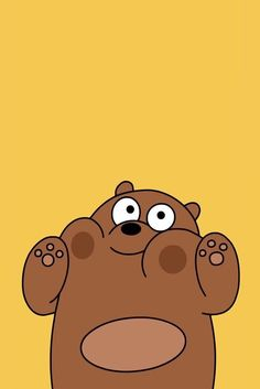 Grizzly pandas bare bears we wallpapers cute animated animals wallpaper Cartoon Wallpaper Iphone, Disney Phone Wallpaper, Kawaii Wallpaper, Cute Wallpaper Backgrounds, Animal Wallpaper, Galaxy Wallpaper, Aesthetic Iphone Wallpaper, Nature Wallpaper, Iphone Wallpaper Yellow