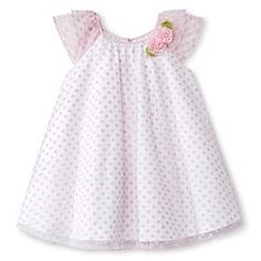 Toddler Girls' Polka Dots Sun Dress Pink - Cherokee®