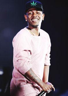 Kendrick lamar . He has the cutest smile <3