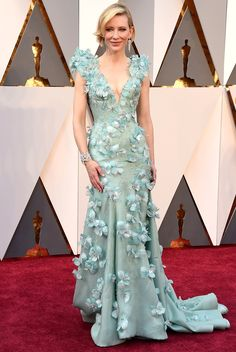 The Best Oscars Gowns of 2016 | People - Cate Blanchett in Armani Prive