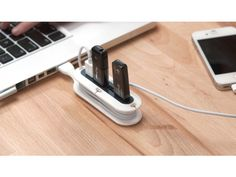 Quirky Contort 4-Port USB Hub