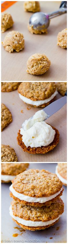 How to make Copycat Little Debbie Oatmeal Creme Pies at home. My readers say these are even better than the original!