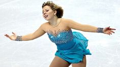 Rachael Flatt -Blue Figure Skating / Ice Skating dress inspiration for Sk8 Gr8 Designs.