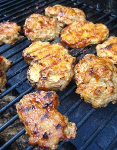 """Grilled Vegan Chicken with """"Honey"""" Lime and Chipotle Sauce 