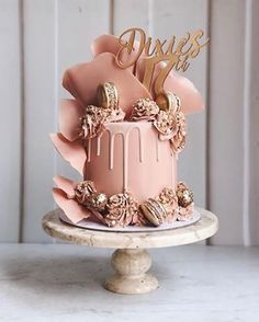 wedding cakes designs Top Wedding Cake Trends for 2020 - Fab Wedding Dress, Nail art designs, Hair colors , Cakes 15th Birthday Cakes, Sweet 16 Birthday Cake, Elegant Birthday Cakes, Beautiful Birthday Cakes, Birthday Cakes For Women, Birthday Cake Girls, 21st Birthday, Birthday Cake For Women Elegant, Birthday Beer