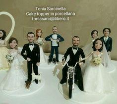 #caricatura #caketopper #personalizzato in #porcellanafredda by #toniasarcinella #taranto toniasarci@libero.it