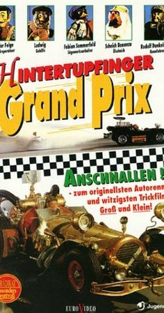 """""""Flåklypa Grand Prix"""" Reodor Felgen decides that he will enter a car race to defeat his former friend who has stolen his plans for a car. Directed by Ivo Caprino. With Wenche Foss, Per Theodor Haugen, Harald Heide-Steen Jr. All Movies, Family Movies, Comedy Movies, Movie List, I Movie, Grand Prix, Cartoon List, Cartoon Online, Watch Cartoons"""