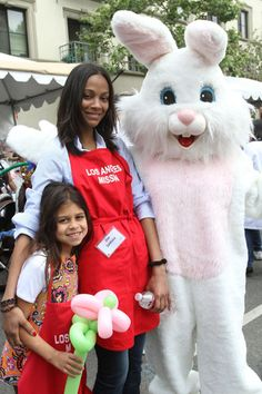 Haylie Duff and Hilary Duff at Los Angeles Mission Easter