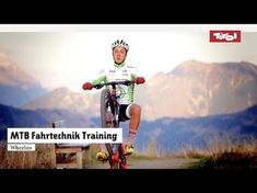 MTB Fahrtechnik Training (10): Mountainbike Wheelies - YouTube