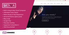 Sienna - Multipurpose Responsive Wordpress Theme