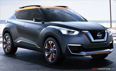 Nissan Unveils Kicks Concept Ahead of Brazilian Motor Show