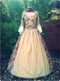 """Last of the Mohicans"" themed Colonial period dress; for sell on eBay"