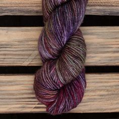 Hand dyed Superwash Merino with Silk and Yak Raspberry Sorbet, Hand Dyed Yarn, Fiber, Silk, Purple, Beauty, Color, Low Fiber Foods, Colour