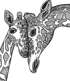 Adult Adult Coloring Books - 27 Adult Adult Coloring Books , Free Printable Coloring Pages for Adults 12 More Designs Everythingetsy Giraffe Coloring Pages, Free Adult Coloring Pages, Coloring Book Pages, Giraffe Colors, Giraffe Decor, Color Mind, Dibujos Zentangle Art, Deco Jungle, Online Coloring