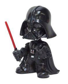 STAR WARS DARTH VADER Holiday Christmas PVC bobble-head 17cm
