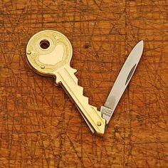 Reason Why I'm Broke: Key-Shaped Pocket Knife