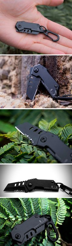 Not many products come with a lifetime warranty and definitely not products that are subjected to rough use. The Bomber B-2 Nano Blade is quite a surprising exception. You'd expect a knife with a 1mm thick blade to succumb to the elements but you'd be wrong! The tactical blade, despite its rather slim size takes on immense roles, making it the one blade you'll carry everywhere. BUY NOW!