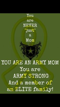#Army #Mom - Yup, Proud Army Mom! http://art4mil.com/ArmyMoms