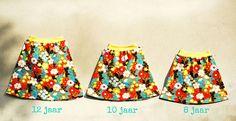 Allemaal Rokjes van 12 tot 8 jaar by Polkadotjes.,