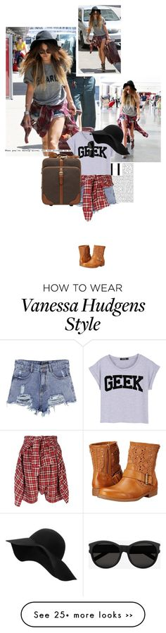 """Style Inspiration: Vannesa Hudgens"" by jesssilva on Polyvore"