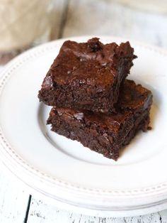 Chewy Vegan & Paleo Brownies   Detoxinista