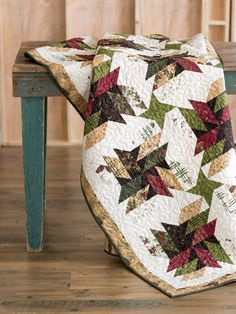 Rock The Old Sawmill Block - Fons & Porter Quilting Quickly Fall 2014