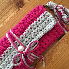 crochet clutch bag …