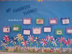 garden theme classroom ideas | Room Mom 101: Some Bulletin Board Ideas