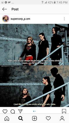 Supergirl Season, Kara Danvers Supergirl, Supergirl Comic, Supergirl And Flash, Lena Luthor, Cute Lesbian Couples, Dc Legends Of Tomorrow, Katie Mcgrath, Dc Characters