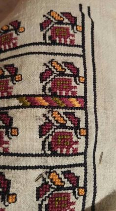 Cross Stitch Embroidery, Beadwork, Bohemian Rug, Patterns, Rugs, Blouse, Block Prints, Farmhouse Rugs, Pearl Embroidery