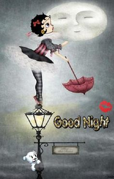 BETTY BOOP IMAGES..... Good Night & sweet dreams