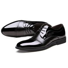 Men Lace Up Artificial Leather Formal Shoes Soft Sole Business Shoes  Worldwide delivery. Original best quality product for 70% of it's real price. Hurry up, buying it is extra profitable, because we have good production sources. 1 day products dispatch from warehouse. Fast & reliable...