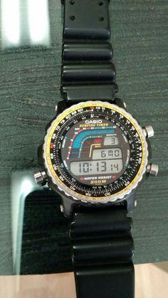 Retro Watches, Vintage Watches, Watches For Men, Nerd Chic, The Last Laugh, Casio Classic, G Shock, Digital Watch, Briefcase