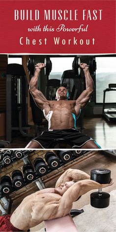 Build Muscle Fast with this Powerful Chest Workout Sometimes, you've gotta change up your game plan to see results. Check out this chest workout crafted with optimal growth in mind. Don't forget to eat more. Chest Workouts, Toning Workouts, Easy Workouts, Bike Workouts, Swimming Workouts, Swimming Tips, Cycling Workout, Workout Fitness, Exercises