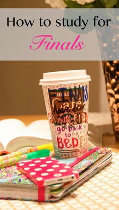 How to Study for Finals: Today on Stylish Sassy and Classy I am sharing a few of my tips and tricks on how to study for final exams. #Starbucks #finals #exams #study