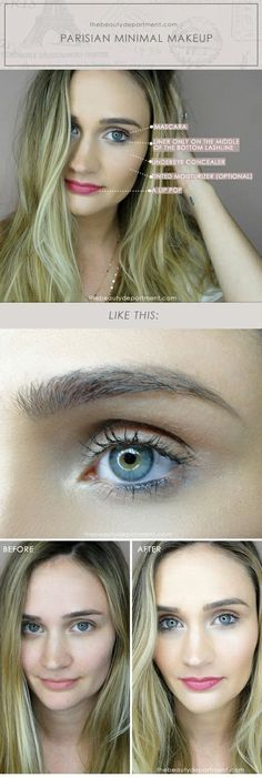 THREE MINUTE MAKEUP | the beauty department | Bloglovin'