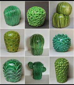 Керамические кактусы