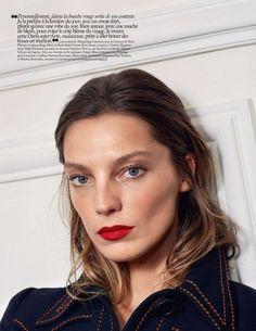 Daria Werbowy Stuns in Vogue Paris May 2015 - Prada