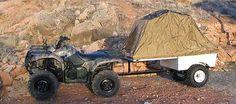 ATV Camping. hahaha