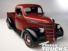 This '39 is just about perfect condition with a new diesel motor, but my dad has a '40 that looks very much like this.